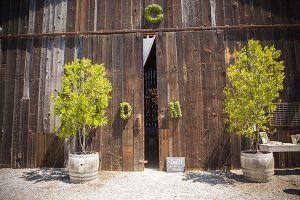 Rustic Barn Entrance