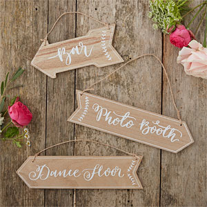 Rustic Wooden-Arrow-Signs